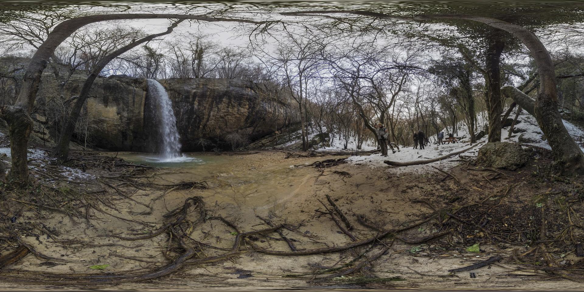 Kozyrok Waterfall 360º Video | 360Cities